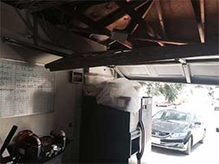Garage door malfunctioning our repair team in league city for Garage team city